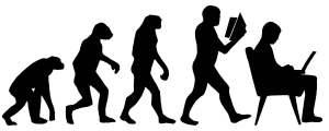 Evolution via Wikimedia.